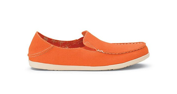 Olukai W's Nohea Canvas Dark Orange/Tapa